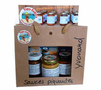 sauces piquantes swiss-mex d'Yvonand